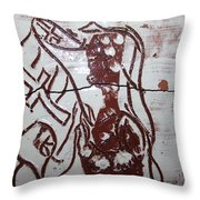 Lord Bless Me 12 - Tile Throw Pillow