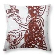 Lord Bless Me 13 - Tile Throw Pillow