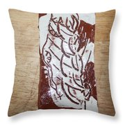 Lord Bless Me 15 - Tile Throw Pillow