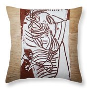 Lord Bless Me 16 - Tile Throw Pillow