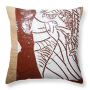 Lord Bless Me 18 - Tile Throw Pillow