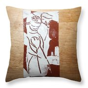 Lord Bless Me 2 - Tile Throw Pillow