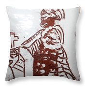 Lord Bless Me 21 - Tile Throw Pillow