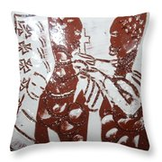 Lord Bless Me 3 - Tile Throw Pillow