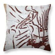 Lord Bless Me 5 - Tile Throw Pillow