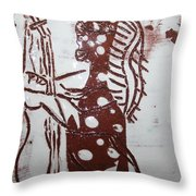 Lord Bless Me 6 Tile Throw Pillow