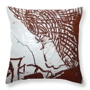 Lord Bless Me 7 - Tile Throw Pillow