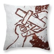 Lord Bless Me 9 - Tile Throw Pillow