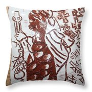 Lord Bless Me19 - Tile Throw Pillow