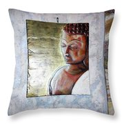 Lord Buddha Throw Pillow