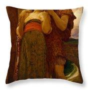 Lord Frederic Leighton - Wedded Throw Pillow