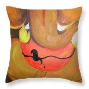 Lord Ganesh Ji Throw Pillow