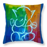 Lord Ganesh Throw Pillow