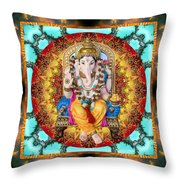 Lord Generosity Throw Pillow