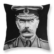 Lord Herbert Kitchener Throw Pillow