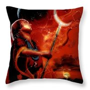 Lord Of Casterly Rock Throw Pillow