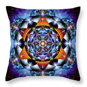 Lord Of Light I Throw Pillow