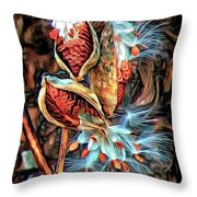 Lord Of The Dance - Paint Throw Pillow