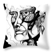 Lord Of The Flies Study Throw Pillow