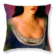 Lord Of The Rings Arwen Throw Pillow