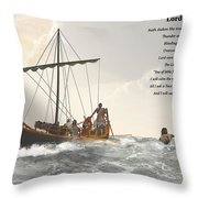 Lord Save Me Throw Pillow