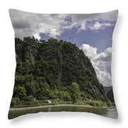 Loreley Rock 10 Throw Pillow