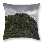 Loreley Rock 12 Throw Pillow