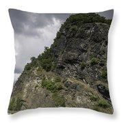 Loreley Rock 16 Throw Pillow