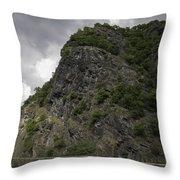 Loreley Rock 17 Throw Pillow