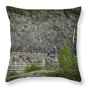 Loreley Squared Throw Pillow