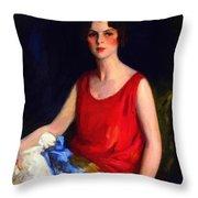 Loretta Hines Howard Throw Pillow