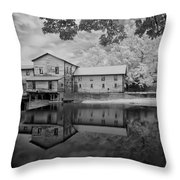 Loretta Lynn's Gritt Mill Throw Pillow