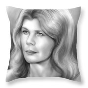 Loretta Swit Throw Pillow