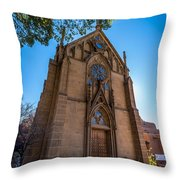 Loretto Chapel Throw Pillow
