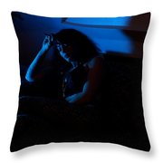 Lori #8 Throw Pillow