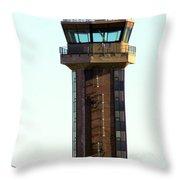 Loring Air Base Tower Throw Pillow
