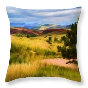 Lory State Park Impression Throw Pillow
