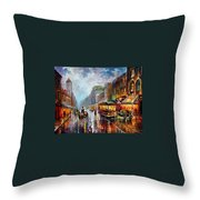Los Angeles 1925 Throw Pillow