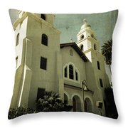 Beverly Hills Church Throw Pillow