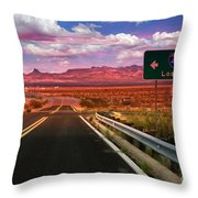 Los Angeles Decision Throw Pillow