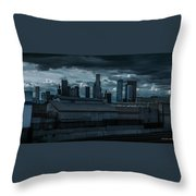 Los Angeles Rain Day Throw Pillow