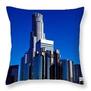 Los Angeles' Westin Bonaventure Hotel Throw Pillow