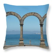 Los Arcos Throw Pillow