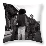 Los Historiantes De Apaneca 3 Throw Pillow