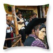 Los Historiantes De Apaneca 5 Throw Pillow