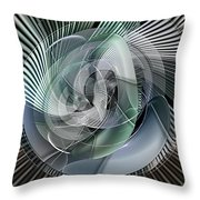 Losing Control Throw Pillow