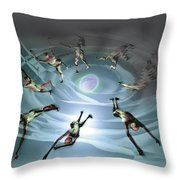 Losing Life And Gaining It Throw Pillow