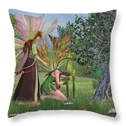 Loss And Lost  Throw Pillow