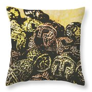 Losses From The Colossus  Throw Pillow