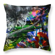 Lost 2 Throw Pillow